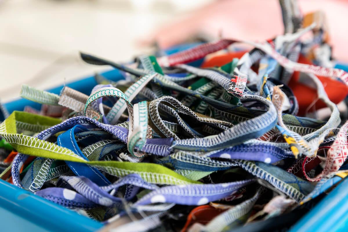Textiles waste